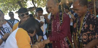 Terima Cincin Emas 86, Christo Kwaman Wahon Terharu