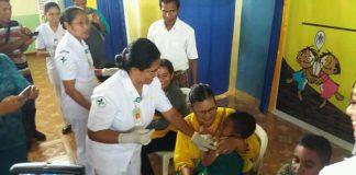 Dinkes Sikka Sasar Imunisasi Campak dan Rubella