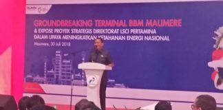 Pertamina Investasi Rp 449,5 Miliar di Sikka, Penjabat Bupati Ajak Masyarakat Berbangga