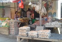 Stok Kosong, Harga Telur Ayam Naik Drastis