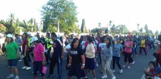 Ratusan Orang Berekspresi di Lokasi Car Free Day