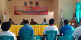 KPU Sikka Tetapkan 449 Calon DPRD Kabupaten