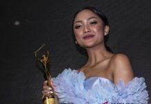 Marion Jola Raih AMI Award 2018