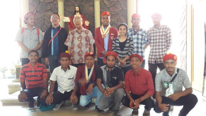 Batal Aksi Jilid Dua, PMKRI Alasan Bertemu Uskup Maumere