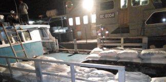Bea Cukai Amankan Kurang Lebih 1.000 Karung Rombengan