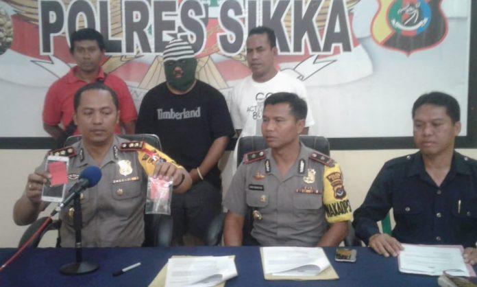 Polisi Bekuk Pengedar Ganja Jaringan Dosen SK