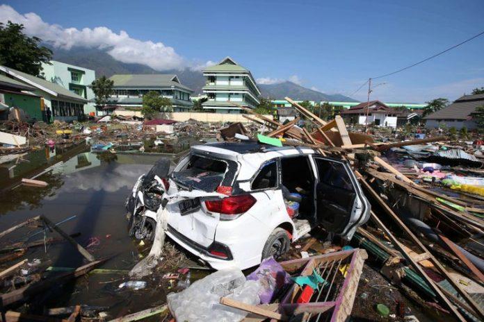 Korban Tewas di Palu dan Donggala 832 Orang