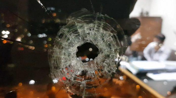 Dua Peluru Nyasar ke Ruang Kerja Anggota DPR