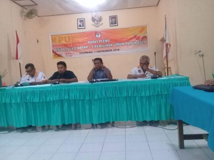 KPU Sikka Tetapkan DPT Hasil Perbaikan Kedua
