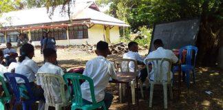 Nasib Miris Ratusan Pelajar, 5 Bulan KBM di Bawah Pohon