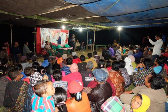 Tutup Tahun 2018, AHP Reses di Lima Kabupaten di Flores