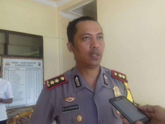 Pesta Rakyat di Maumere, Polisi Tutup Jalan Eltari