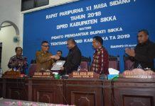 """DPRD Sikka """"Ribut"""" Soal Tunjangan Perumahan dan Transportasi, APBD Sikka 2019 Belum Ditetapkan"""