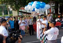 Ribuan Generasi Muda di Sikka Ramaikan Milennial Road Safety Festival