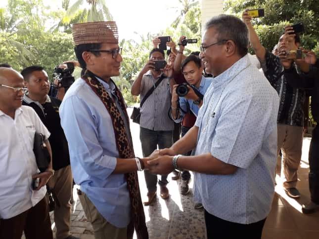 Uskup Maumere Pesan Sandiaga Uno Jaga NKRI