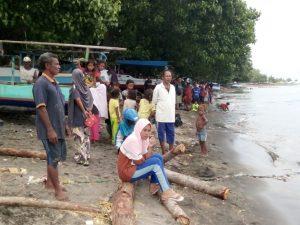 Nelayan Tenggelam di Pantai Nanghure