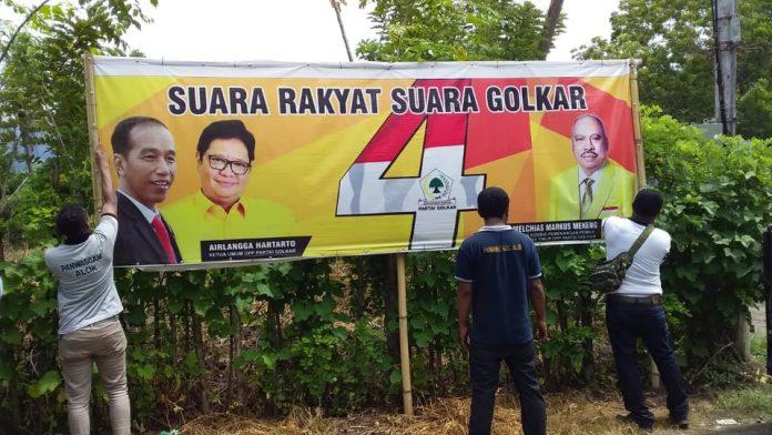 Jokowi Diturunkan di Maumere