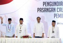 Survei 7 Lembaga, Jokowi-Maruf Unggul