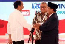 Real Count KPU 19.15 WIB, Jokowi 54,97% dan Prabowo 45,03%