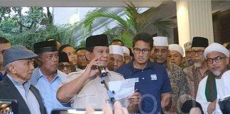 Hari Ini Prabowo Rayakan Kemenangan di Kertanegara