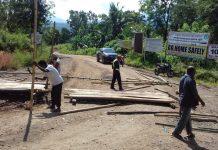 Pemilik Lahan Tuntut Ganti Rugi, Akses Waduk Napung Gete Ditutup