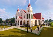 Saksikan Wajah Baru Gereja Centrum, Umat Tepuk Tangan Meriah