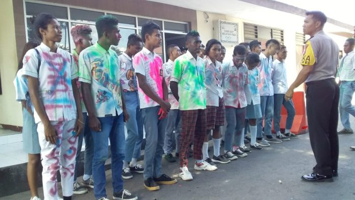 Euforia Kelulusan dengan Ugal-Ugalan, Polisi Amankan Puluhan Pelajar