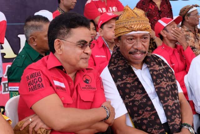 AHP Semat Marcel Petu sebagai Bupati Pancasila