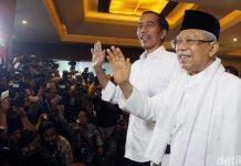 KPU Tetapkan Jokowi-Ma'ruf Menang Pilpres