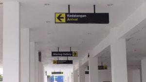 Terminal Penumpang Belum Difungsikan, Plafon Bangunan Sudah Jebol