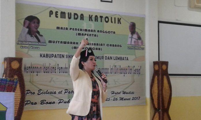 Kalangan Milenial Elus Karolin Margret Natasa Jadi Menteri