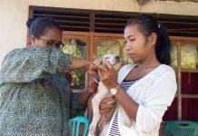 Hanya 3 Minggu, Petugas Vaksin 21.779 HPR di Sikka