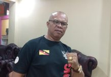 Sam Haning Kecewa Kerja Buruk Panitia Tinju Internasional di Maumere