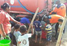 BPBD Sikka Salurkan 15.000 Liter Air Bersih ke Tanaduen