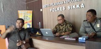 Rumitnya Pidanakan Bupati Sikka, Roy Rening Terpaksa Bikin Laporan di Mapolres