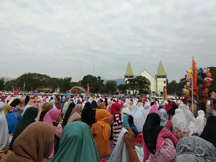 Hormati Sholat Id di Lapangan Umum, Gereja Protestan Tunda Jam Ibadah
