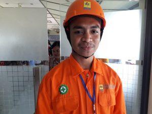 Akbar Mising Senang Bisa Praktik Kerja di PLN