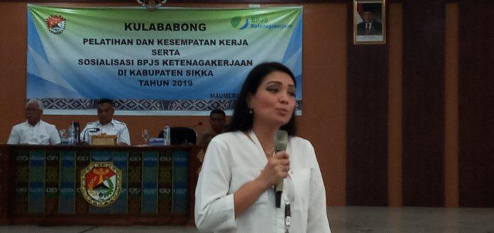 Kementerian Nakertrans Gelontorkan Rp 5 Miliar untuk Calon PMI Sikka