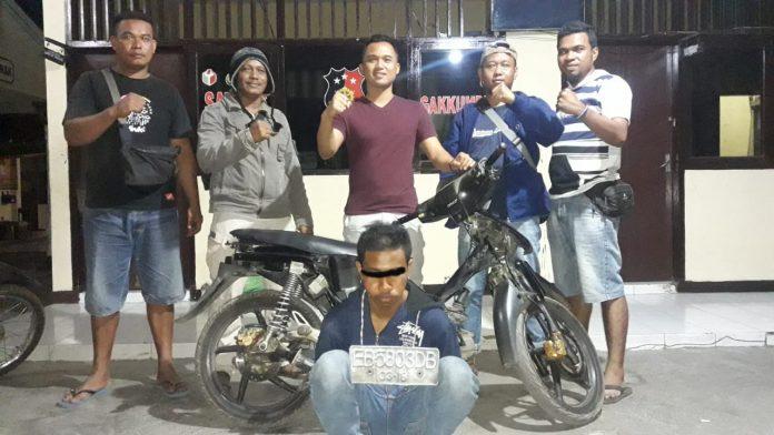 Polisi Bekuk Residivis Pencurian di Sikka