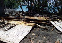 Laut Sawu Mengamok, Puluhan Rumah Rusak Parah