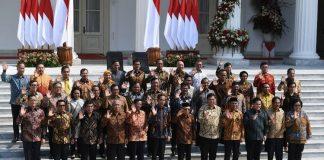 Daftar Lengkap Menteri Kabinet Indonesia Maju