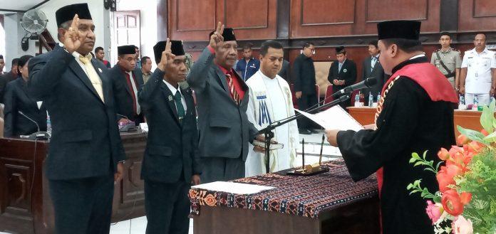 DPRD Sikka Resmi Miliki Pimpinan Definitif