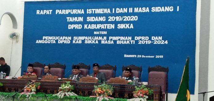 Ketua DPRD Sikka Imbau Hilangkan Kepentingan Kelompok