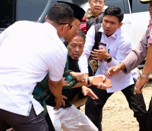 Serangan Pandeglang, Wiranto Ditusuk Suami Isteri