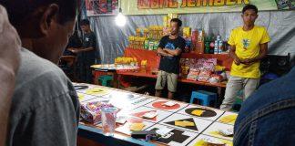 Judi Berkedok Pasar Malam, Bertepatan dengan Masa Adven