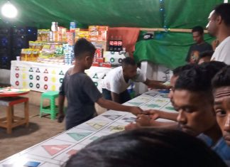 Rolet di Pasar Malam Pekerjakan Anak di Bawah Umur