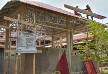 Ini Bangunan Ruang Santai di DPRD Sikka