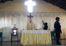 Tim Penjinak Bom Steril 5 Gereja di Maumere