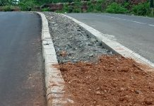 Peningkatan Jalan Lingkar Luar Miliaran Rupiah Terkesan Dikerjakan Asal Jadi
