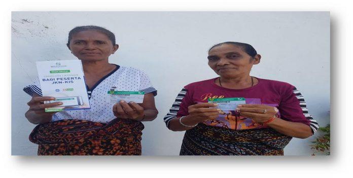 Cerita Dua Perempuan dari Kangae yang Kompak Dukung Program JKN-KIS